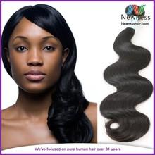Productos alta demanda 100% puro de proveedor onda del cuerpo del indio virginal del pelo Aaaaaa