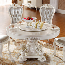 Cheap European style wooden dinning table