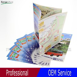 2015 New Promotion Folded Flyer Printing/Advertising flyer