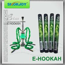 OEM shisha pen colored smoke electronic cigarette rechargeable hookah pen 500puffs with diamond tip