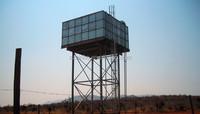 Elevated water storage tank/steel frame water tower /galvanized steel water tank
