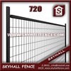 powder coated metal fence for Construction Barriers