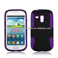 For Samsung I8190 GALAXY SIII Mini Accessory Combo Hybrid Mesh Case