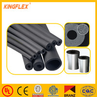Flexible black heating air conditioner thermal insulation tube/pipe/duct