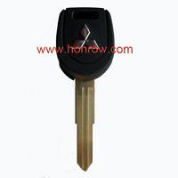 Mitsubishi transponder Key shell with left blade