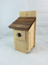 FSC Small New Design Wood House Wooden Bird Cage
