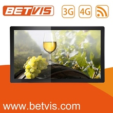 Highly stable wall fixing digital led advertising players