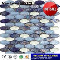 New model luxury design mma octagon marble floor mosaic tiles