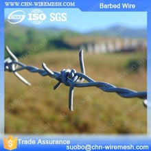 Barrier Fenc Iron Wire Mesh Unit Weight Of Barbed Wire