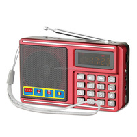 more than 20 hours long play time mini cube music radio speaker