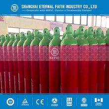 China Mainland Bestseller Seamless Steel Oxygen CO2 Gas Bottle Nitrous Oxide Gas Cylinder