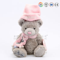 China ICTI plush factory promotion toys children's day gift