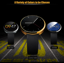 DM360 Bluetooth Smartwatch Smart watch for IOS Andriod Mobile Phone with Heart rate monitor Wristwatch PK U8 M26 moto 360 smart