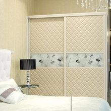 oppein móveis cama contemporânea roupeiro porta de correr