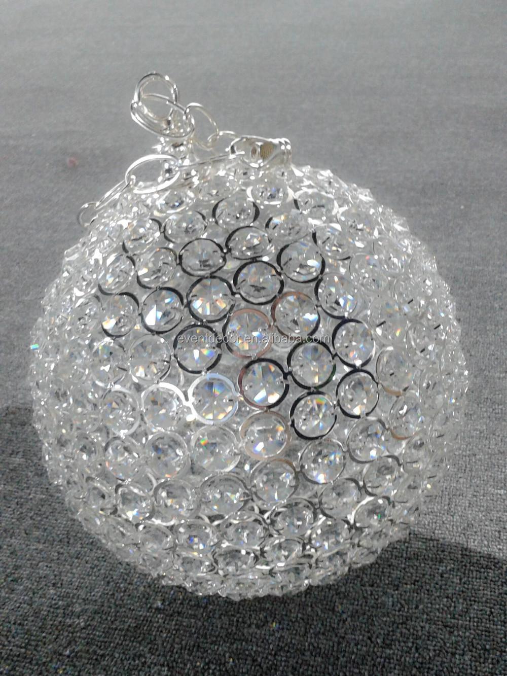 Hanging Crystal Ballwedding Decor Crystal Ballscrystal Ball