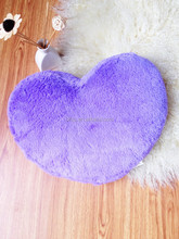 BRIGHT COLOR HEART PILLOW DECORATE CUSHION BABY LOVELY HEART CUSHION