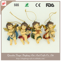 Wholesale Resin Angel and Cross Religious Crafts Sexy Fairy Figurines
