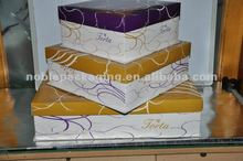 Popular Birthday cake paperboard gift box