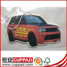 Paper Type flavor car air freshener