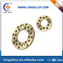 Self-lubricating Auto brass Thrust Washer with graphite