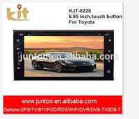 automoblie backup camera support HD screen autoradio touch screen 2 din car dvd players gps