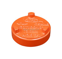 FM,UL certificated ductile iron grooved/threaded end pipe fitting-cap