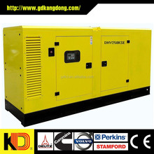Low fuel consumption Open / Soundproof Type Diesel Generator 50kw With CUMMINS Engine