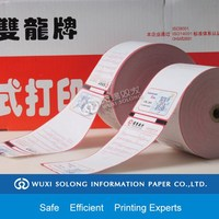 different size printed glossy thermal paper