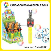 Boxing Animal Kangaroo Funny Shantou Toy Bubble For Children