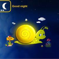 Creative cartoon children decorative lights stairs intelligent optical control sensor lights DIY Wallpaper Wall Lamp