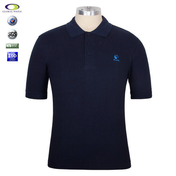 High Quality Short Sleeve Cotton Fabric For Custom Mens