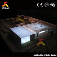fancy 4 axis 3d architectural model making machine with high z