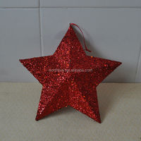 Vintage christmas paper star decorations from China factory