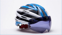 Cycling A Body Molding Helmet With The Magnet Glasses Cycling Helmet Road Mountain Bike Helmet