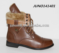 Winter shoes boots ladies boots,Ankle Boots with turn down collar,women shoes bots