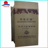 High Quality outer carton box wine bottle carton box