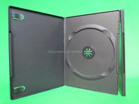top grade quality plastic pp single dvd box