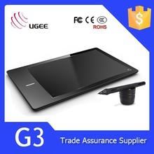 Ugee G3 9x6 inch 2048 level 5080LPI digitizer pen for tablet pc