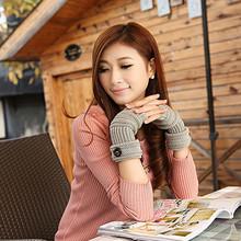 W26043 hot selling warm fingerless women winter gloves