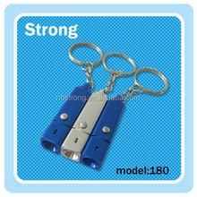 square aluminum single mini led flashlight high quality