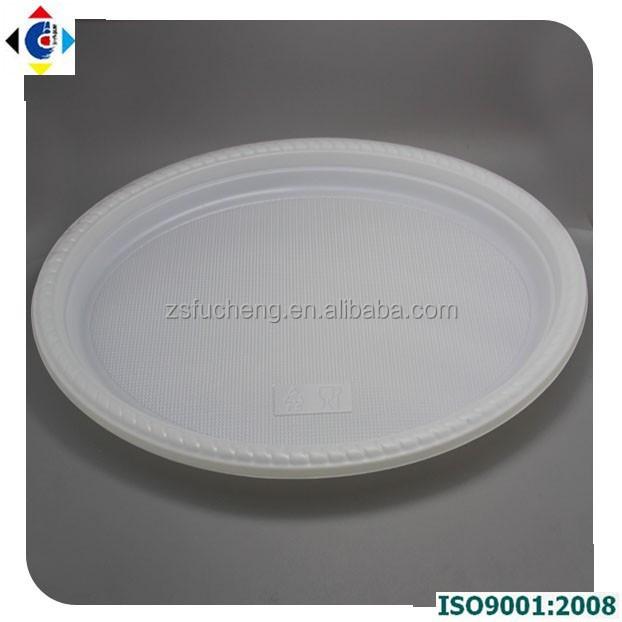 Festa em de plástico prato de doces descartável Ova placas prato