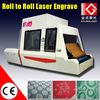 Laser engraving textiles of garment fabric laser engraving machine 1.6X1.6m
