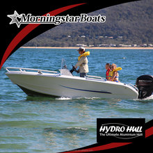 2015 New small aluminum speed center steering console boat for sale
