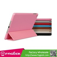 Fast Shipping BELK Slim Tri-folding Smart Wake Up / Sleep Leather Skin Cover Stand for iPad Air