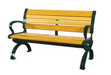 Elegant beach or garden outdoor bench SN-B03