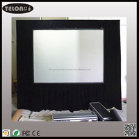 Fast folding projector screen/Folding screen/Fast fold screen wiht front and rear material flight case