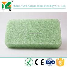 natural Soft konjac bath sponge kids bath sponges