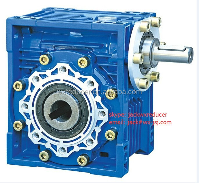 Nmrv030 worm gearbox speed reducer for electric motors for Speed reducers for electric motors