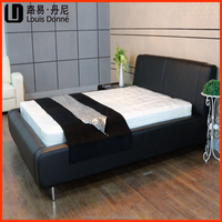 latest hot selling indian style wood double bed designs