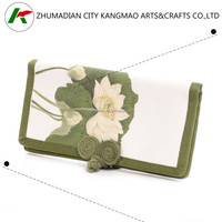Alibaba China manufactory top quality cheapest customized ladies purse